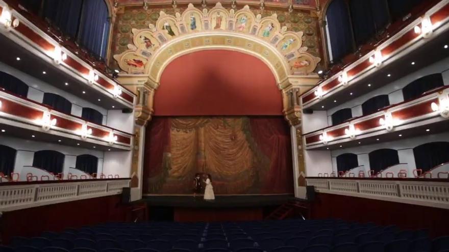 El teatro Principal de Castellón