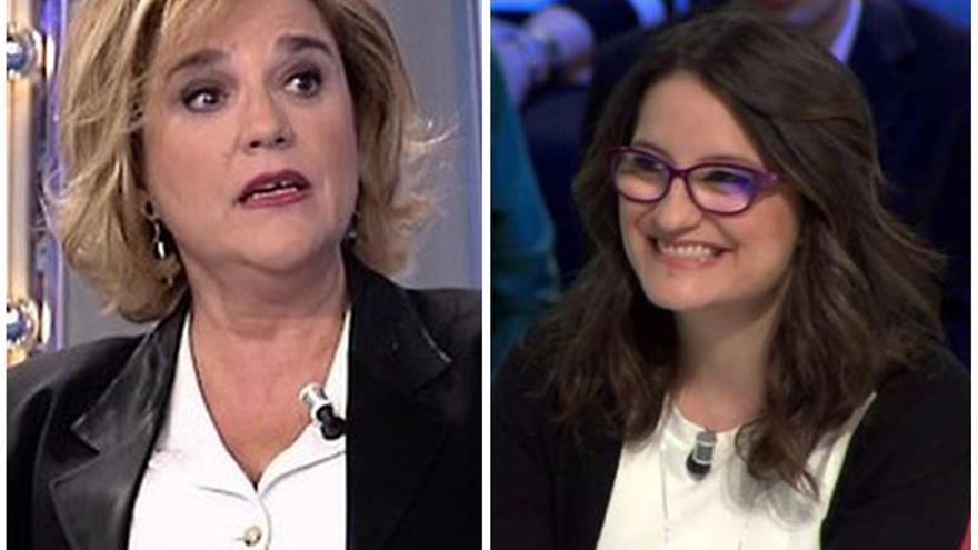 Pilar Rahola y Mónica Oltra