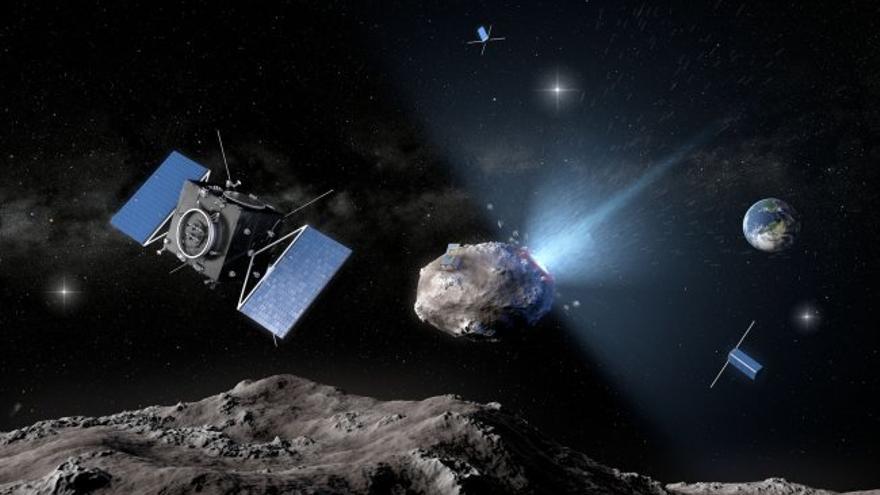 Escenario Apocalíptico: Millones de asteroides asesinos amenazan al planeta Recreacion-asteroide-Dydimos_EDIIMA20161123_0789_4