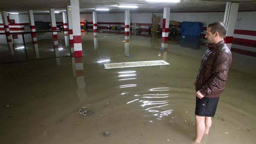 Rajoy traslada su apoyo al operativo contra las intensas lluvias en Málaga