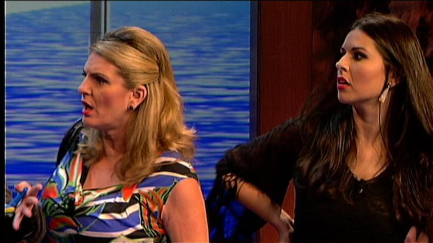 Un momento del programa de la Televisión Canaria 'En Clave de Ja'.