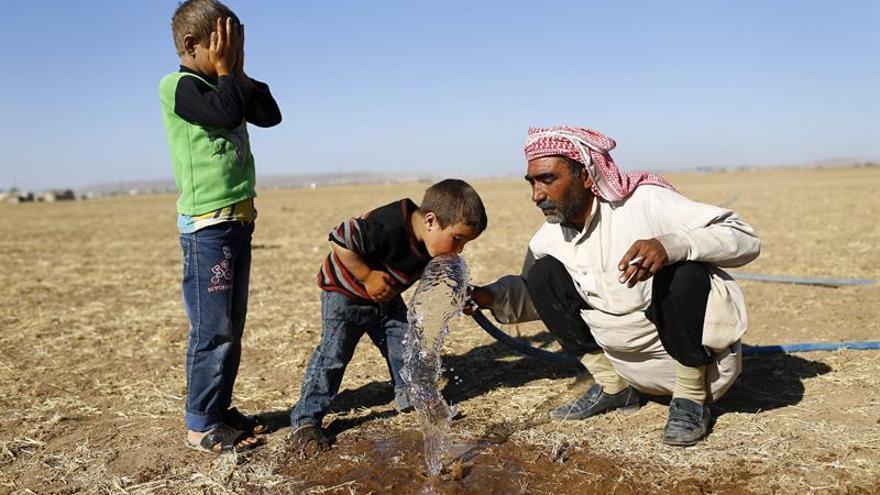 La oposición entrega el control de una planta de bombeo de agua en Alepo a las autoridades