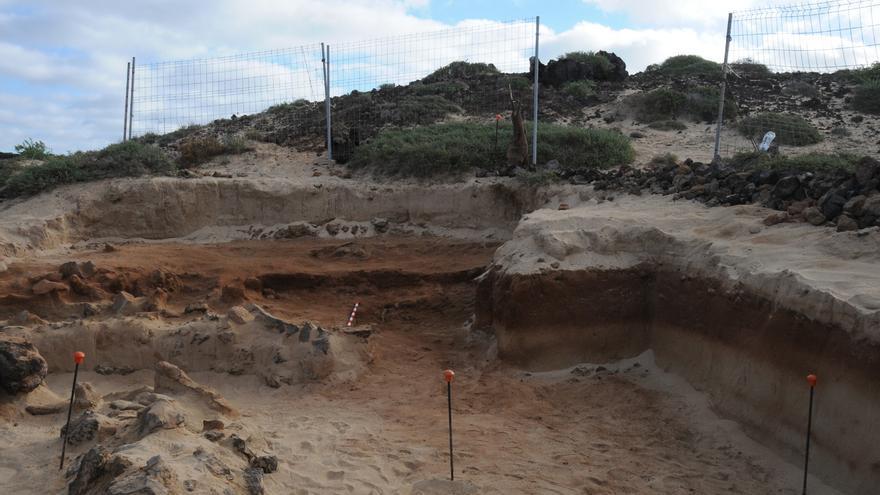 Finalizan las excavaciones en el yacimiento romano del islote de Lobos