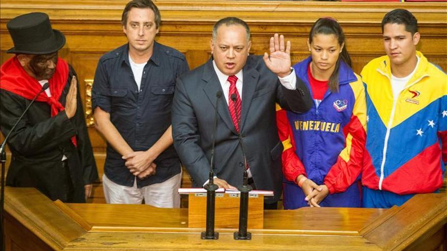 El chavista Diosdado Cabello, reelegido presidente del Parlamento venezolano