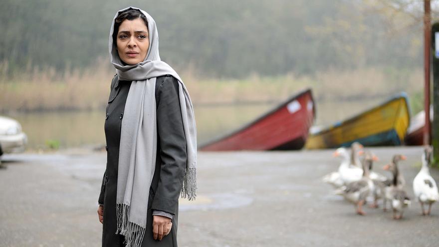 Sareh Bayat en una escena de 'Nahid'