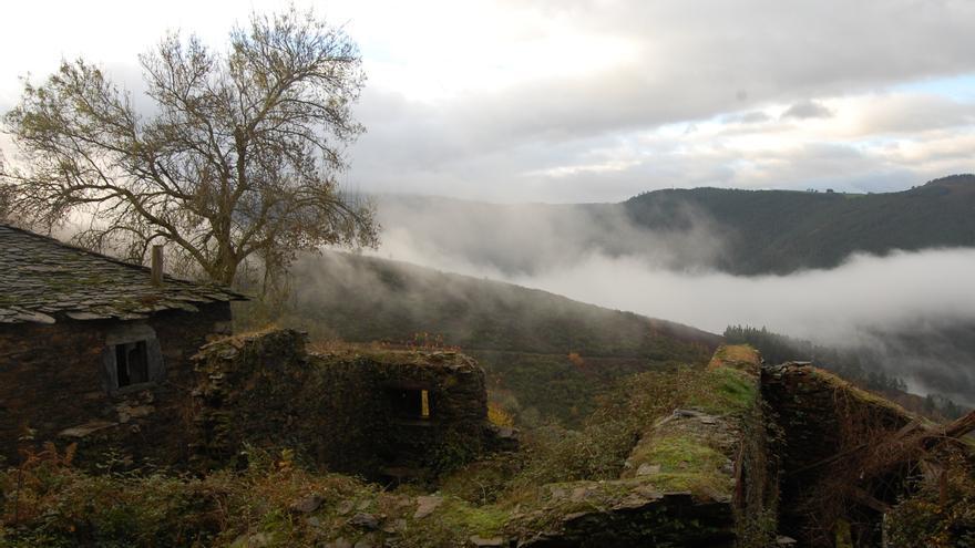 Una aldea abandonada en Galicia