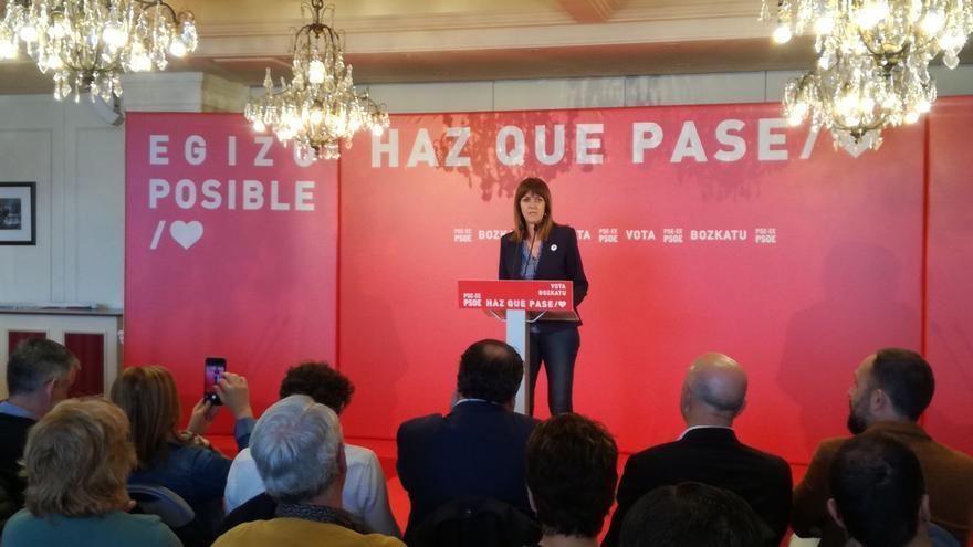"""Mendia (PSE) dice que Cs, Vox y PP comparten como proyecto """"acabar con el autogobierno y los derechos sociales"""""""