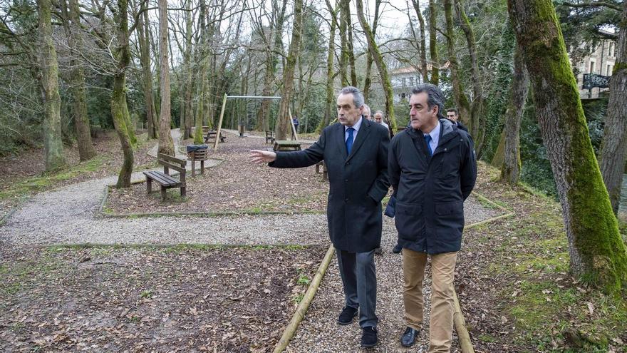 El Gobierno renueva la imagen turística de Liérganes y construye un aparcamiento disuasorio