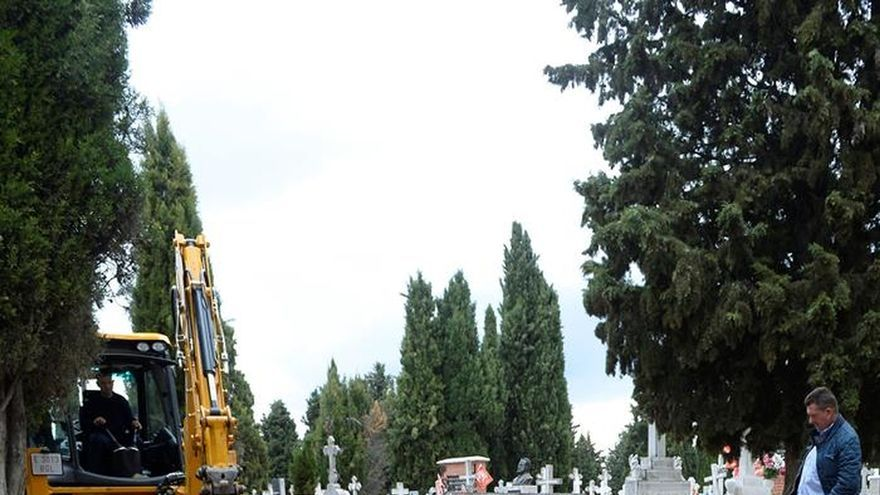 Localizada una segunda fosa de represaliados en el cementerio de Valladolid