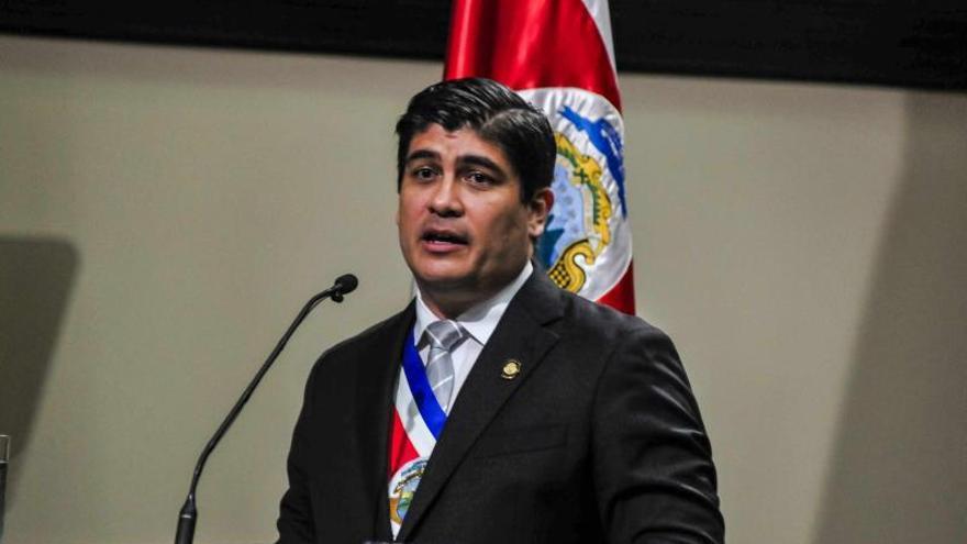 El presidente de Costa Rica viaja a Alemania para una visita oficial