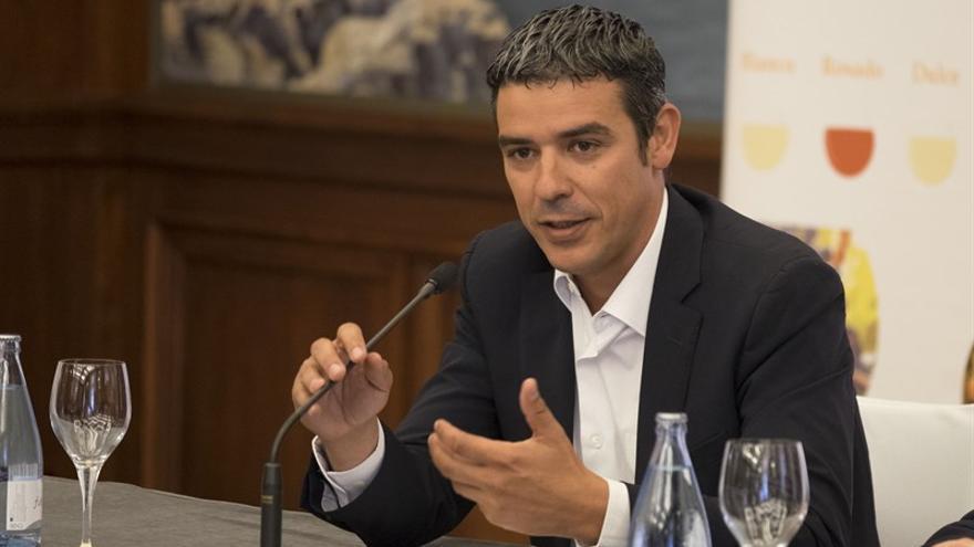 El consejero de Agricultura, Ganadería, Pesca y Aguas del Gobierno de Canarias, Narvay Quintero