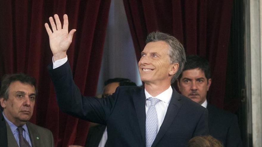 Macri inicia su agenda con un acto para reactivar obras en la provincia de Buenos Aires