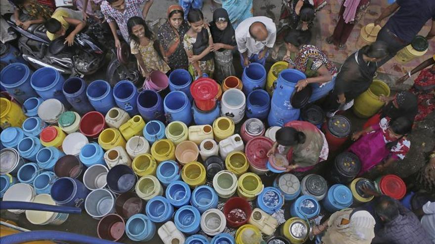 Unos 748 millones de personas en el mundo no tienen acceso a agua potable