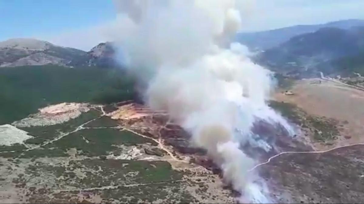 Incendio en Cabra