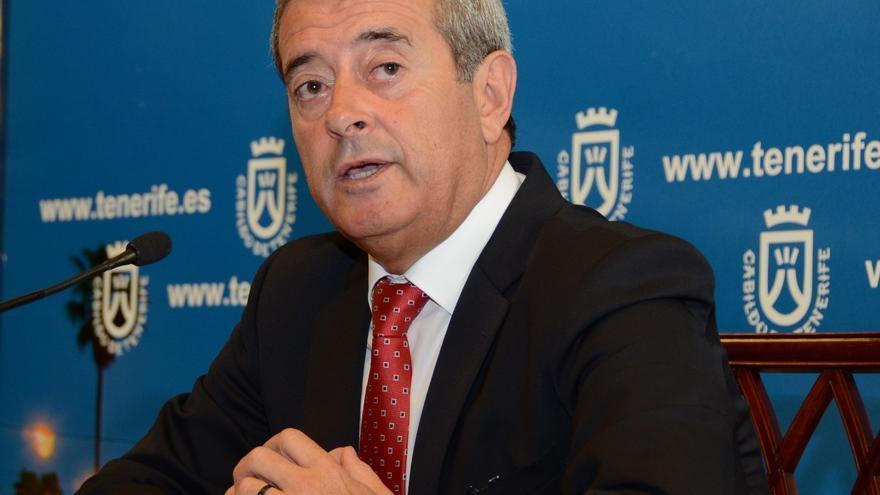 El vicepresidente y consejero de Bienestar, Sanidad y Dependencia del Cabildo de Tenerife, Aurelio Abreu.