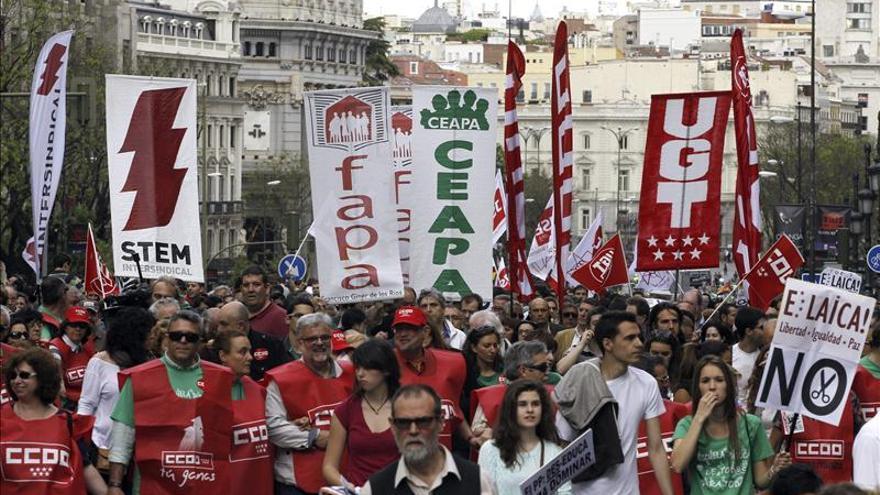 PSOE, IU, CiU y PNV renuevan en el Congreso su compromiso de derogar la Lomce