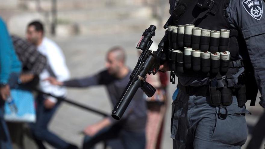 Un palestino muere tras intentar apuñalar a un guardia israelí