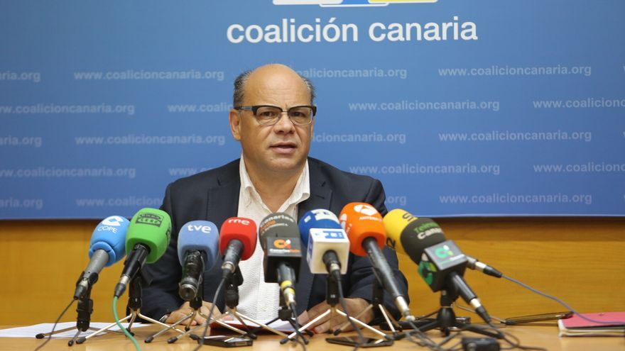José Miguel Barragán, secretario general de Coalición Canaria