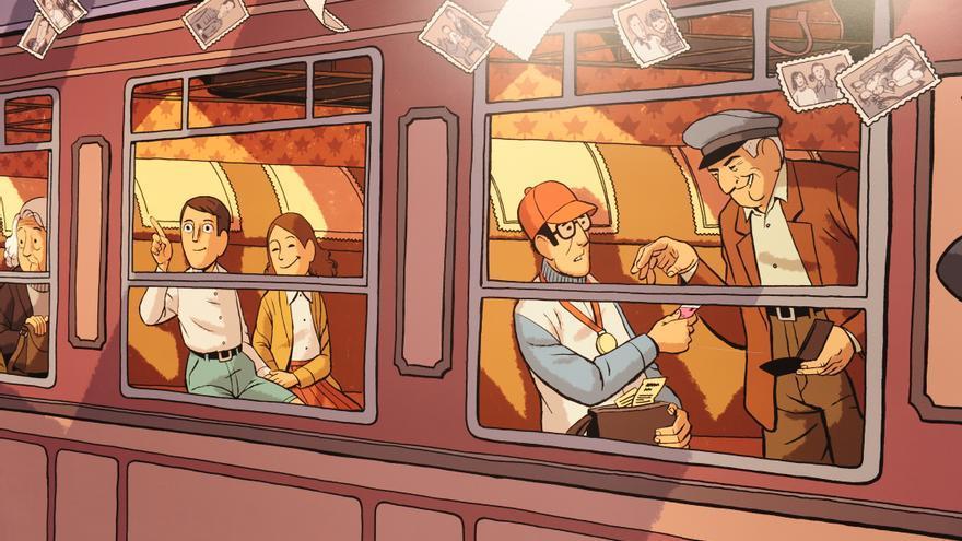 Imagen del cómic Arrugas