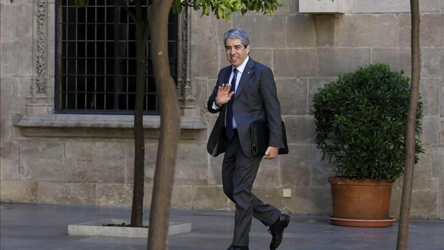 El Govern catalán critica el trato a los manifestantes en el mitin del PP