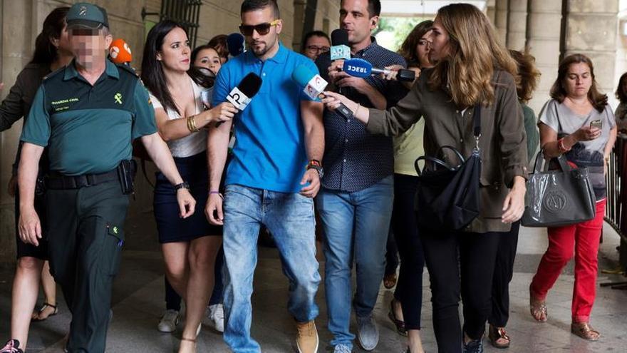 Ángel Boza, otro miembro de La Manada que se presenta en los juzgados