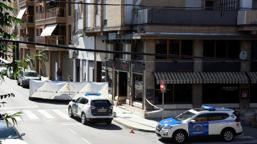 Detenido un hombre por matar presuntamente a su pareja en Barbastro (Huesca)