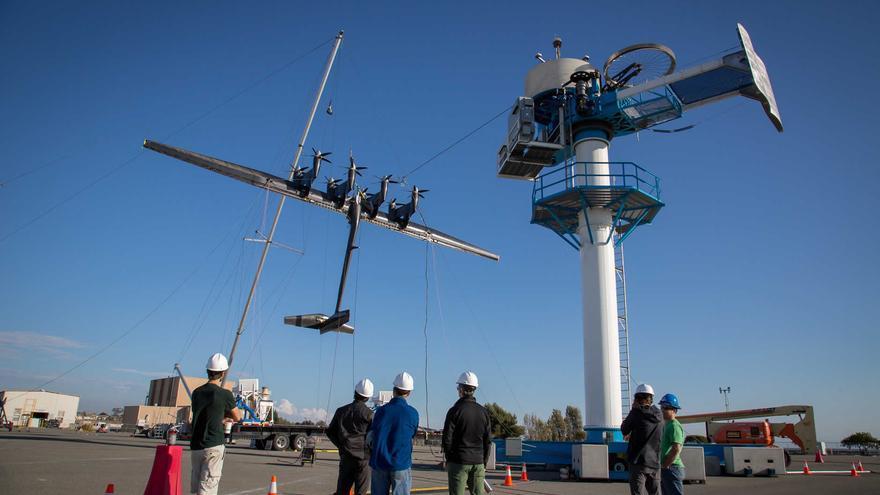 Los aerogeneradores voladores de Makani