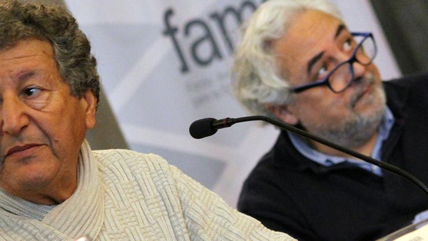 Sami Naïr y Javier de Lucas, expertos en migraciones y derechos humanos. | JUAN MIGUEL BAQUERO