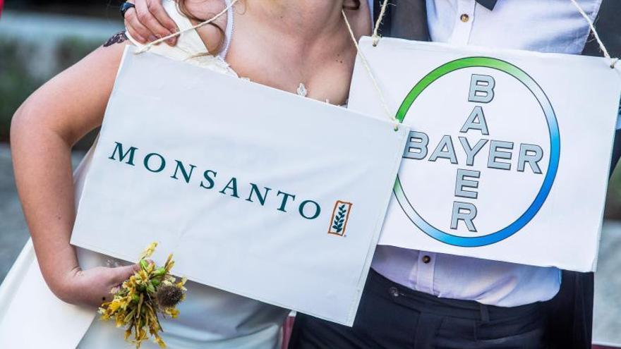Manifestación contra Monsanto