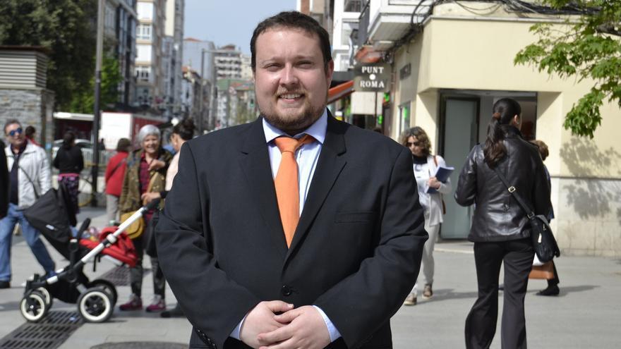 Rubén Gómez, candidato de Ciudadanos a la Presidencia de Cantabria.
