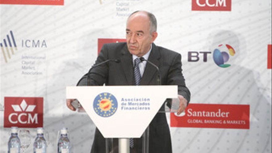 El gobernador del Banco de España, Miguel Ángel Fernández Ordóñez