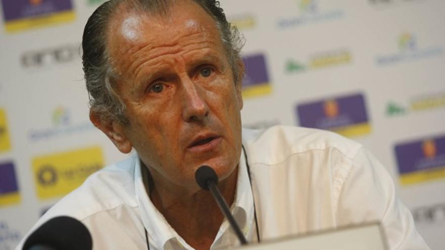 Joaquín Costa durante su comparecencia.