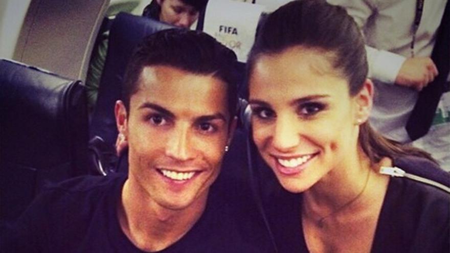 Desmienten que Cristiano tenga una relación con una presentadora de Real Madrid TV