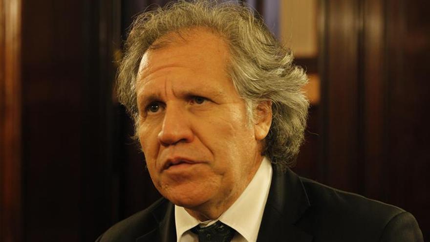 El secretario de la OEA critica que el chavismo acuse de traición a la patria a los opositores