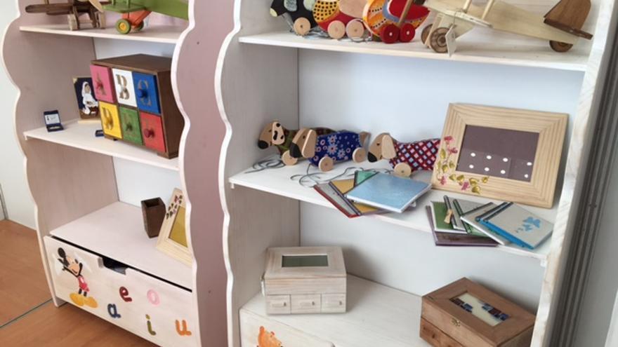 Productos en el stand de Apace Toledo