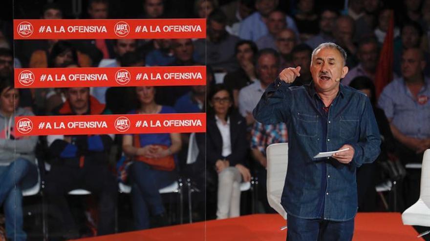 """Pepe Álvarez califica de """"espeluznantes"""" los casos de corrupción del Canal. lo pongo en madrid"""