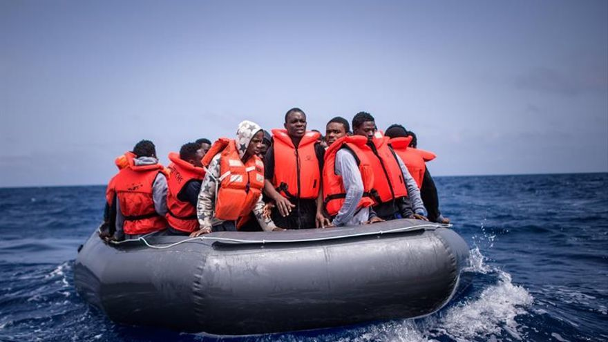 Las muertes de migrantes bajan en 2018 pero el Mediterráneo sigue siendo letal