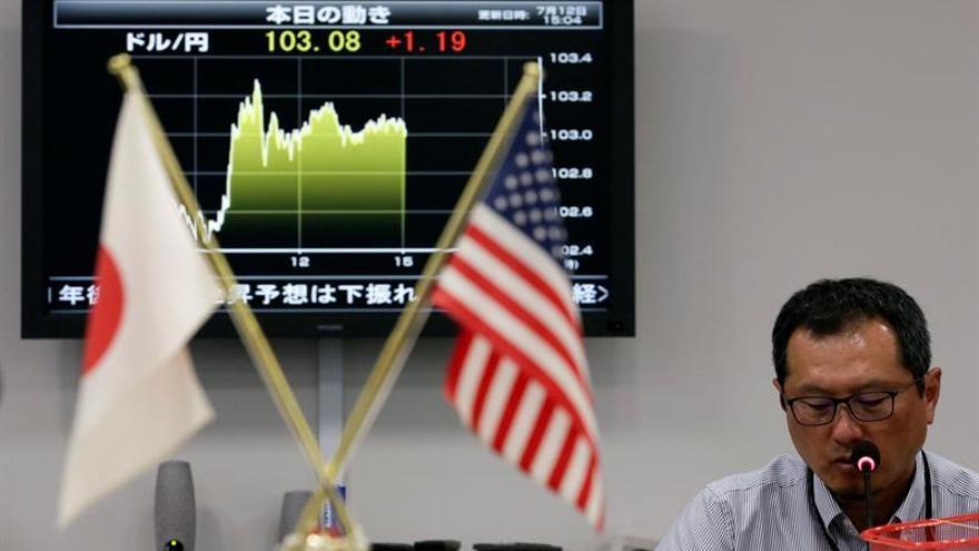 El dólar toca su máximo ante el yen en cinco meses aupado por Trump y la Fed