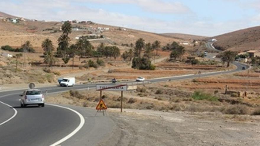 La carretera Antigua- Tiuneje
