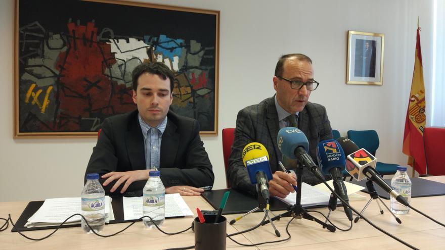 Ricardo Almalé (izqda) y Felipe Faci (derecha).