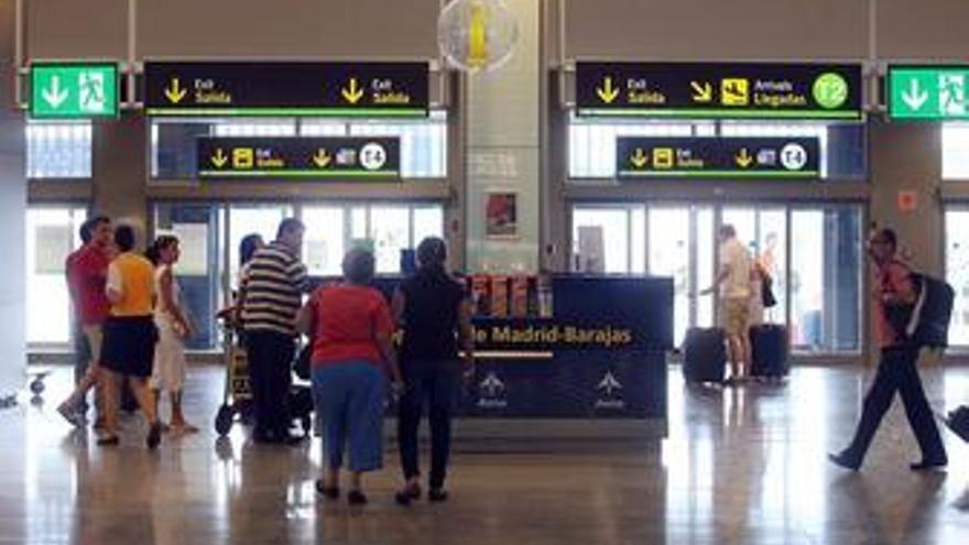 Plano general del aeropuerto de Barajas