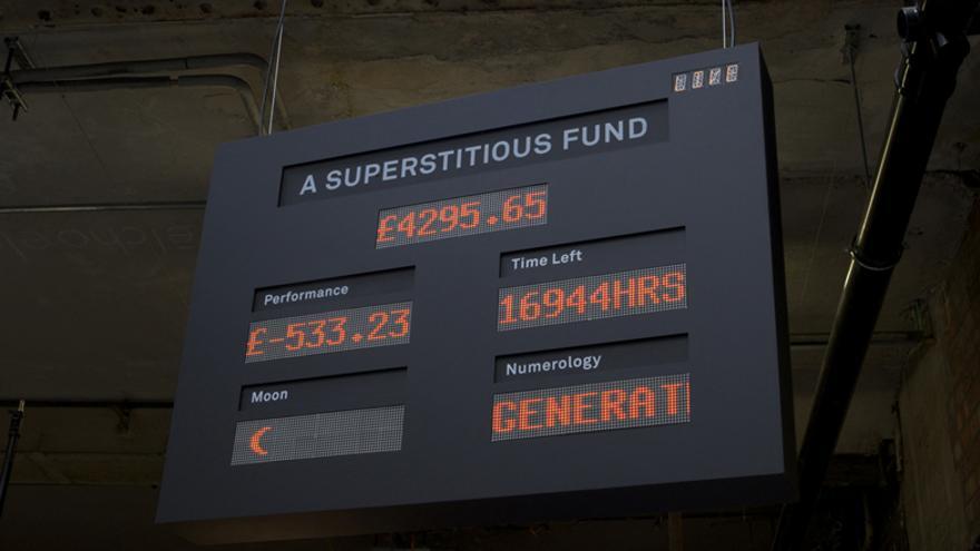 Sid, el 'bot' supersticioso toma las decisiones de este peculiar fondo de inversión