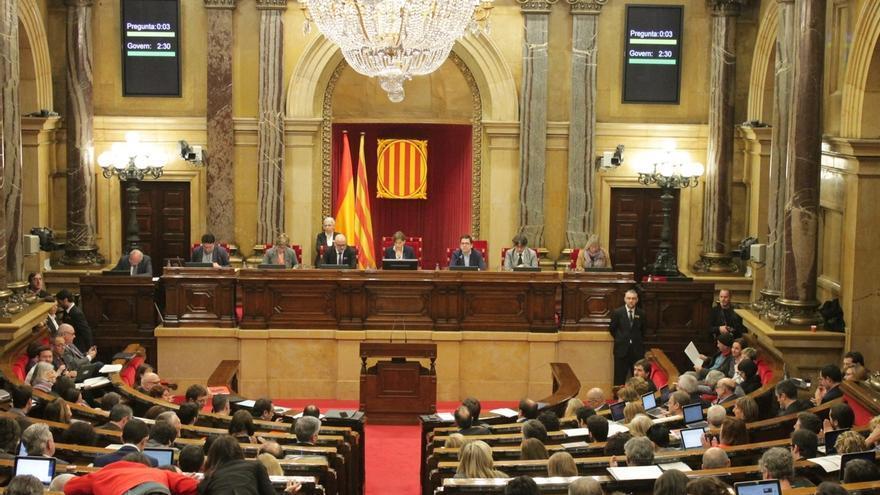 El pleno del Parlament da este miércoles el primer paso para agilizar la ruptura con España