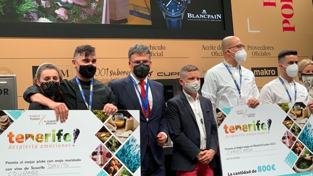 Entrega premios I Concurso Cocina con Mojos