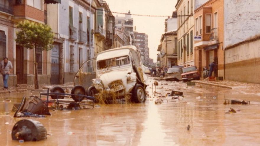 Riada en Valdepeñas en 1979