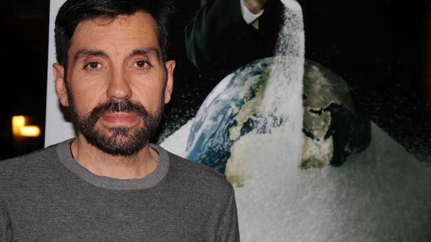 Javier Guzmán en las jornada organizada en Bilbao. - Javier-Guzman-jornada-organizada-Bilbao_EDIIMA20150327_0156_4