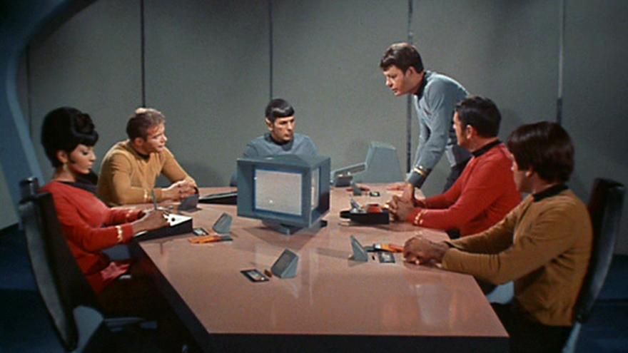'Star Trek' predijo las videoconferencias y videollamadas