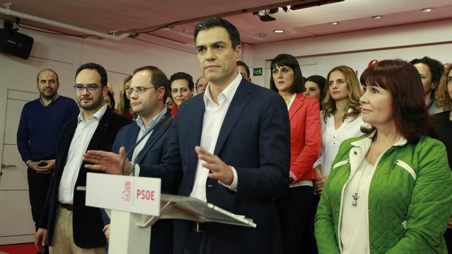"""Pedro Sánchez dice que el PP debe """"intentar formar gobierno"""" pero recalca que """"España quiere izquierda"""""""
