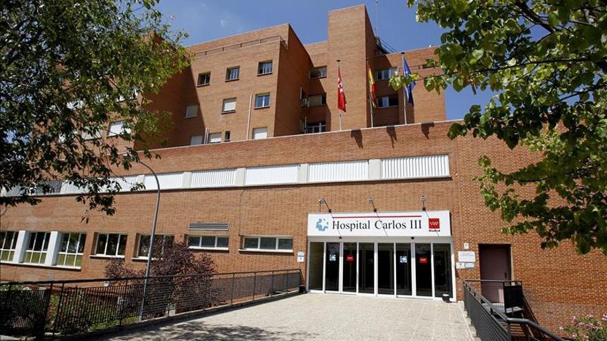 El hospital Carlos III, donde está ingresada la auxiliar de enfermería Teresa Romero.