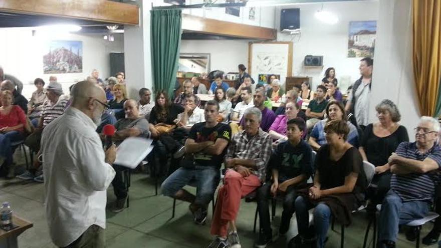 Asamblea Extraordinaria de Podemos en Tenerife.